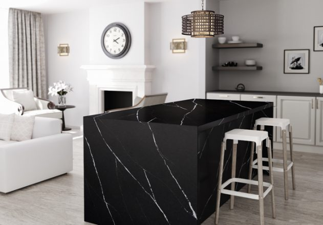 Cosentino-Silestone Kitchen - Eternal Marquina