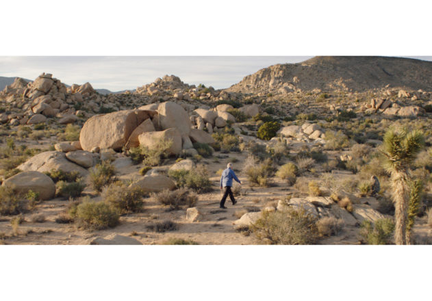 web_8_WIRII_Stills_1.1.5_Detective Michael Scott searching for Rocky II in the desert